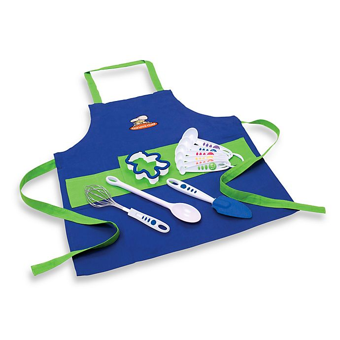 Alternate image 1 for Curious Chef 11-Piece Boys' Chef's Kit