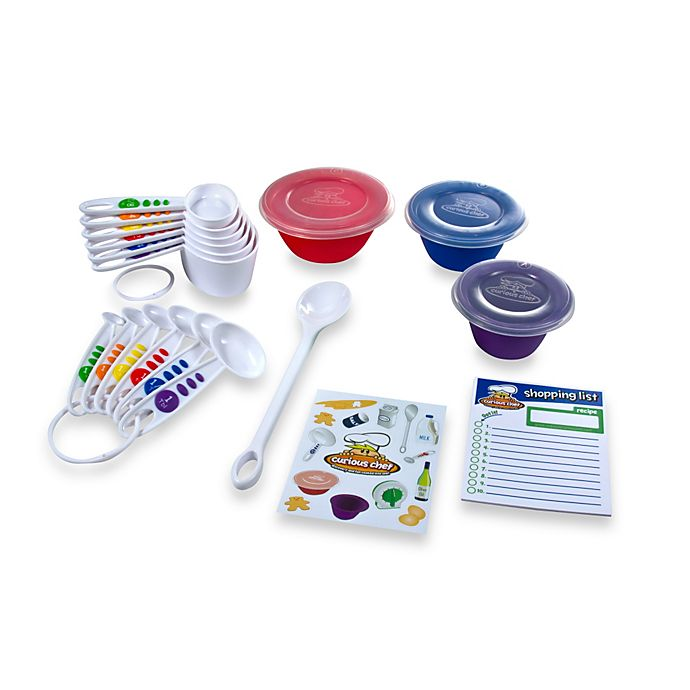 Alternate image 1 for Curious Chef 17-Piece Measurement and Prep Kit