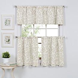 Serene Window Curtain Tier Pairs and Valance