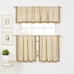 Wilton Window Curtain Tier Pairs and Valances