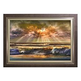 Waves of Light Wall Art