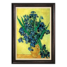 Vase of Irises Wall Art