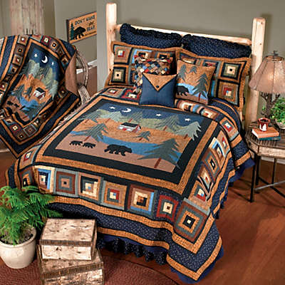 Donna Sharp Midnight Bear Quilt