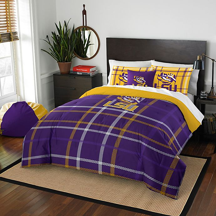 Lsu Embroidered Comforter Set Bed Bath Beyond