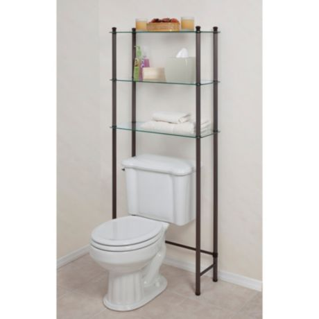 L'Etagere Over the Toilet Space Saver in Oil Rubbed Bronze