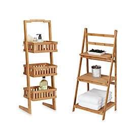 Creative Bath™ Bamboo Shelf Towers