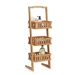 Creative Bath™ Bamboo 3-Shelf Vanity Valet