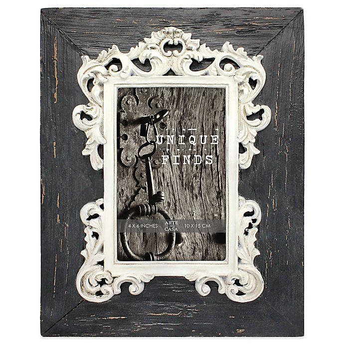 Arte De Casa Argento Sc Distressed 4 Inch X 6 Inch