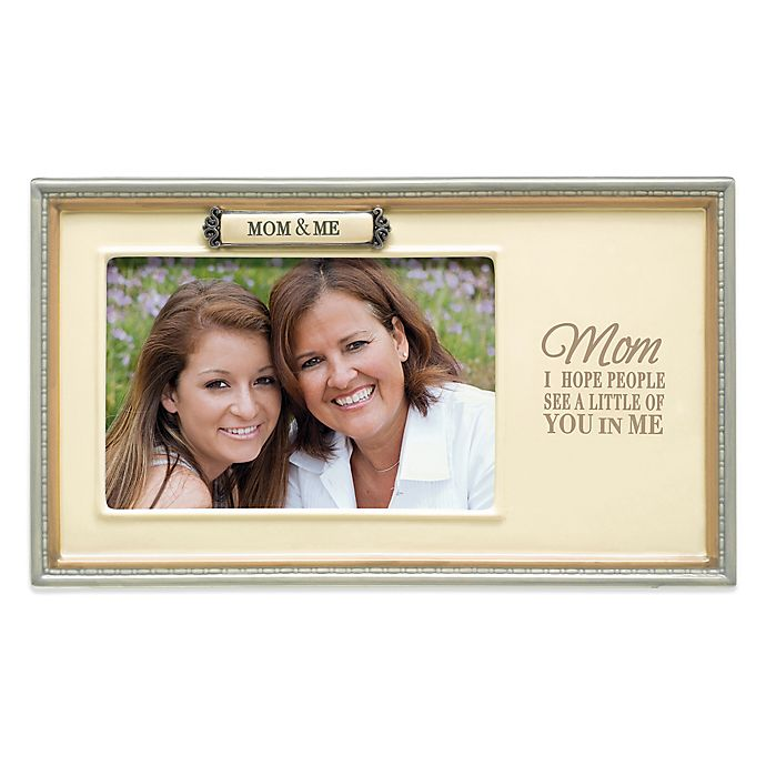 Grasslands Road Mom Me 4 Inch X 6 Inch Picture Frame Bed Bath