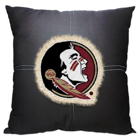 Florida State University 18 Inch Letterman Throw Pillow