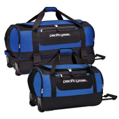 Pacific Gear Rolling Duffle in Blue  bd400acc59355