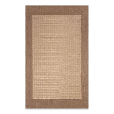 Couristan® Checkered Field Rug in Natural/Cocoa
