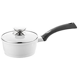 Berndes® SignoCAST® Ceramic Cast Aluminum Covered Saucepans in Pearl
