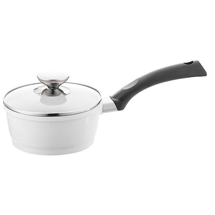 Alternate image 1 for Berndes® SignoCAST® Ceramic Cast Aluminum Covered Saucepans in Pearl
