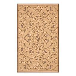 Couristan® Veranda Indoor/Outdoor Rug in Natural/Cocoa