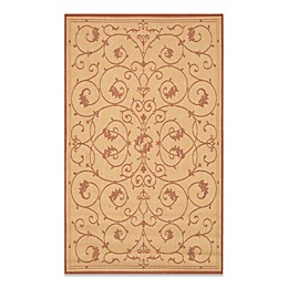 Couristan® Veranda Indoor/Outdoor Rug in Natural/Terracotta