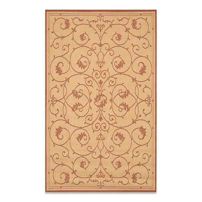 Alternate image 1 for Couristan® Veranda Indoor/Outdoor Rug in Natural/Terracotta