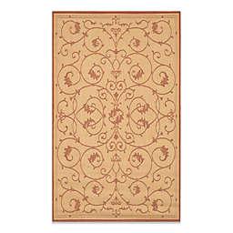 Couristan® Veranda Indoor/Outdoor Rug in Natural/Terracotta