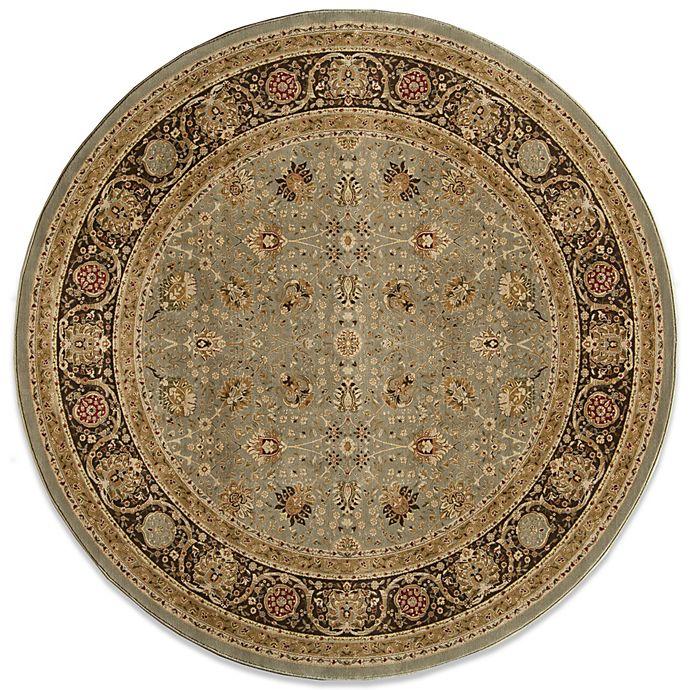Alternate image 1 for Momeni Royal 7-Foot 10-Inch Round Rug in Slate