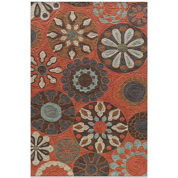 Alternate image 1 for Momeni Summit 5-Foot x 10-Foot Rug in Terracotta