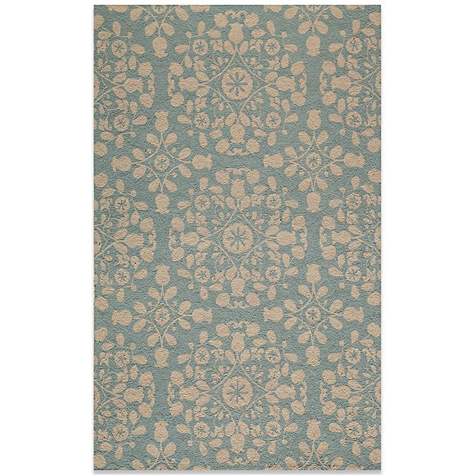 Alternate image 1 for Momeni Suzani 2-Foot x 3-Foot Hook Rug in Blue