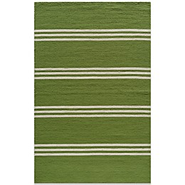 Momeni Veranda Rug in Lime