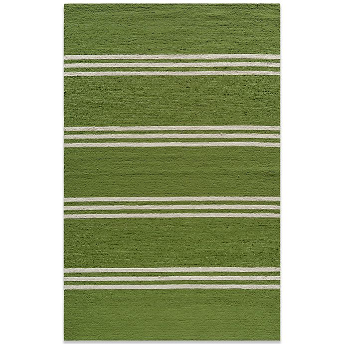 Alternate image 1 for Momeni Veranda Rug in Lime