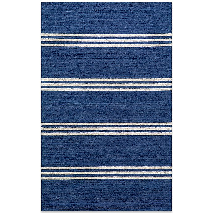 Alternate image 1 for Momeni Veranda 3-Foot 9-Inch x 5-Foot 9-Inch Rug in Maritime Blue