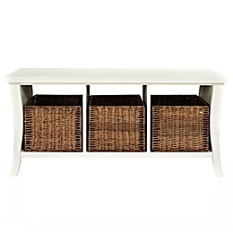Crosley Wallis Entryway Storage Bench