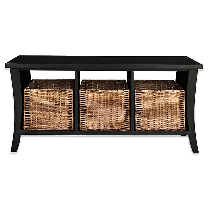 Magnificent Crosley Wallis Entryway Storage Bench Evergreenethics Interior Chair Design Evergreenethicsorg