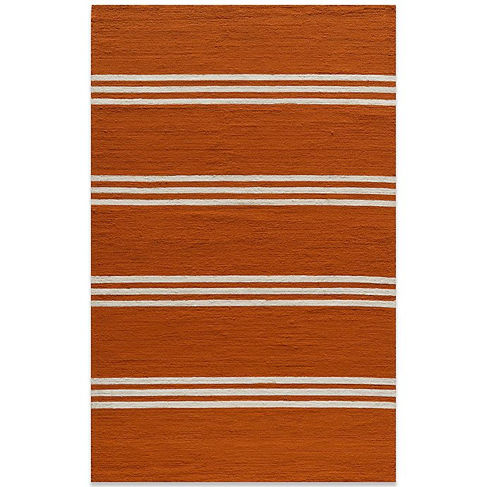 Alternate image 1 for Momeni Veranda Rug in Tangerine