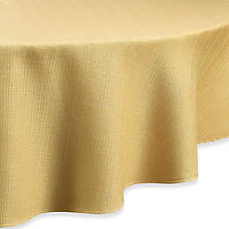 Noritake® Colorwave 90-Inch Round Tablecloth in Mustard