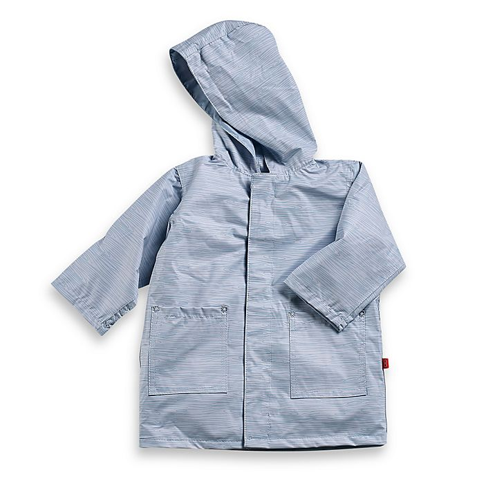 Alternate image 1 for Magnificent Baby Smart Close Raincoat in Birch Boy Print (4T)