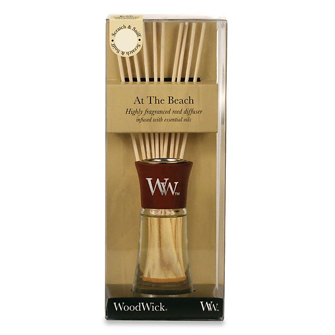 Alternate image 1 for WoodWick® Small At the Beach Reed Diffuser