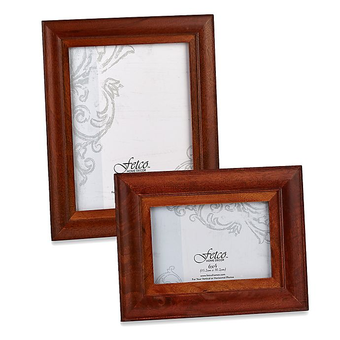 Fetco Home Decor™ Riverside Two-Tone Photo Frame In Walnut