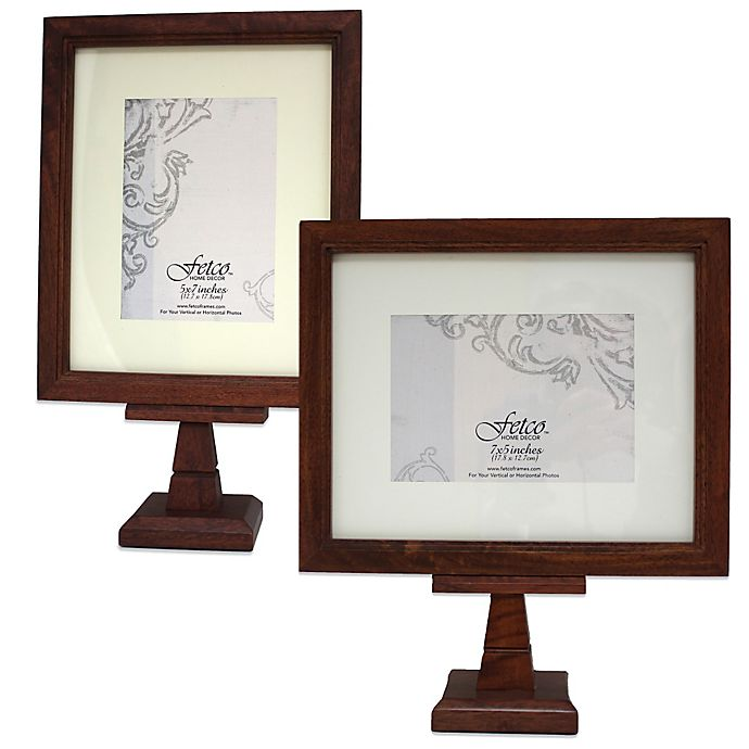 Fetco Home Decor™ Mitchum Matted Pedestal Photo Frame In