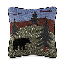 Donna Sharp Bear Lake Square Throw Pillow