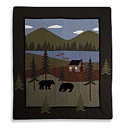 Donna Sharp Bear Lake Throw Blanket