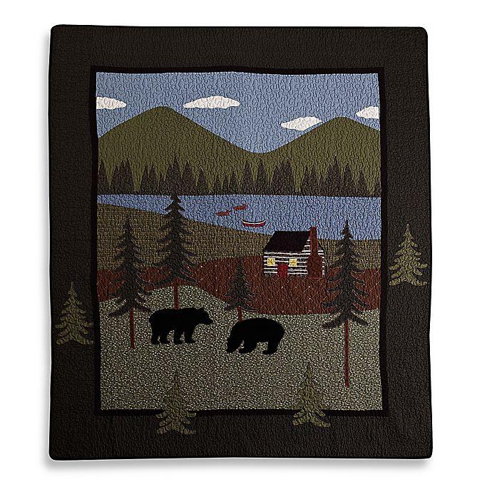 Alternate image 1 for Donna Sharp Bear Lake Throw Blanket