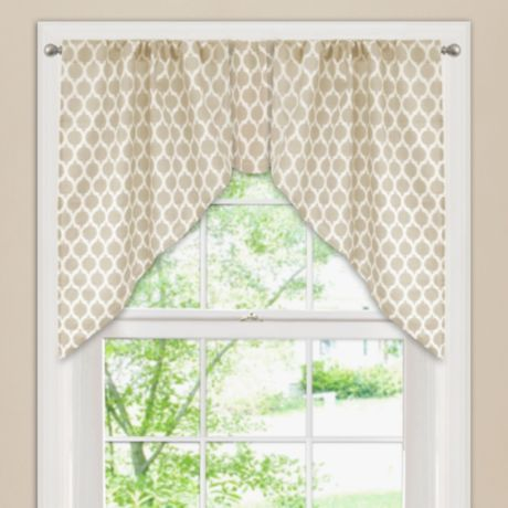 Buy morocco window curtain swag valance from bed bath beyond - Swag valances for bathroom windows ...