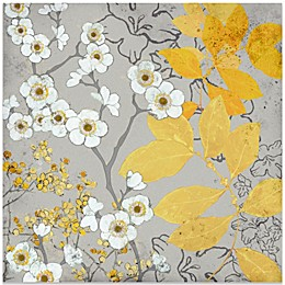 Fabrice de Villenueve White Blossoms Wall Art
