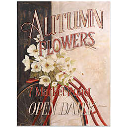 Fabrice de Villenueve Studio Autumn Flowers Wall Art