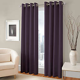 Majestic Room Darkening Lined Grommet Window Curtain Panel