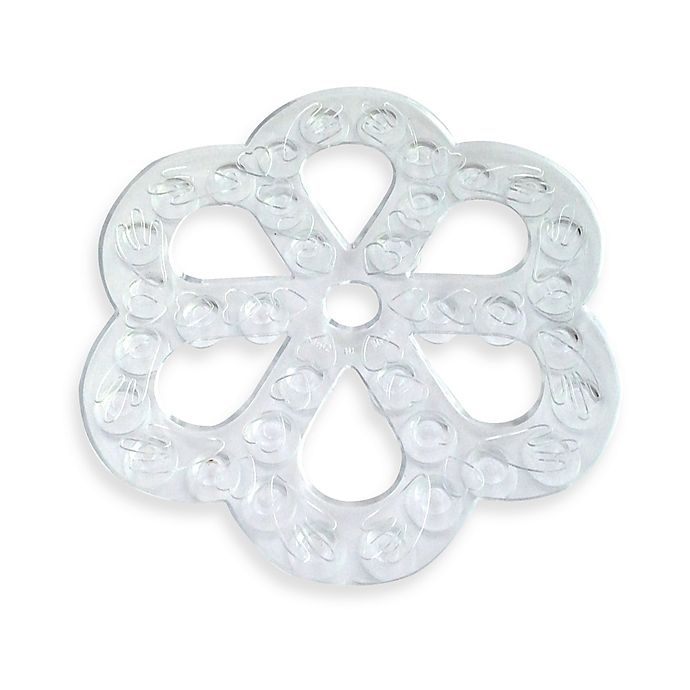 Alternate image 1 for 6-Pack Bath Tub Appliqués in Clear