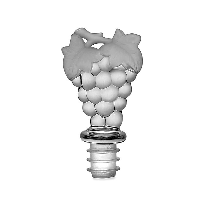 Alternate image 1 for Prodyne Clear Acrylic Grapes Wine Topper