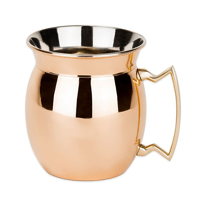 Alternate image 1 for Old Dutch International 16 oz. Moscow Mule Mug with Flanged Lip in Solid Copper