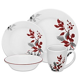 Corelle® Boutique Kyoto Leaves 16-Piece Dinnerware Set