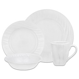 Corelle® Boutique Swept Dinnerware Collection in White