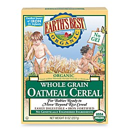 Earth's Best® Organic 8 oz. Whole Grain Oatmeal Cereal