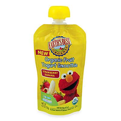 Earth's Best® Organic 4.2 oz. Sesame Street Strawberry Banana Fruit Yogurt Smoothie